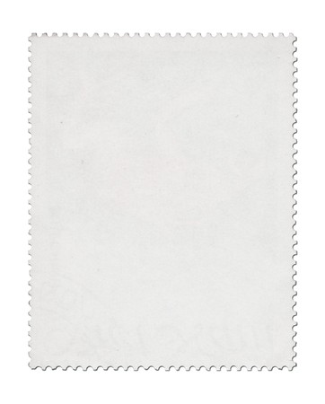 Blank post stamp scanned with high resolution. Stock Photo - 7477642