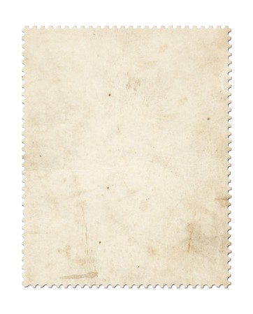 Blank post stamp scanned with high resolution. Stock Photo - 7477644