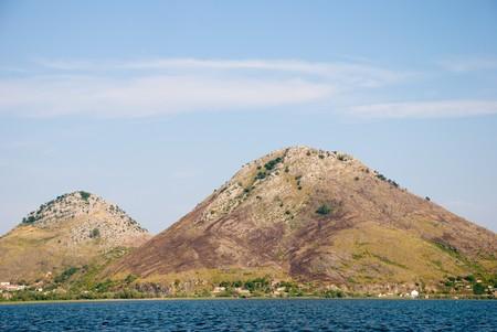 Mountain lake. photo