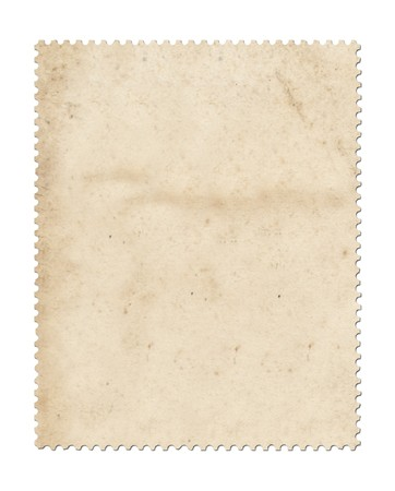 Blank post stamp scanned with high resolution. Stock Photo - 7605474