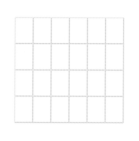 Blank post stamps scanned with high resolution Stock Photo - 7605557