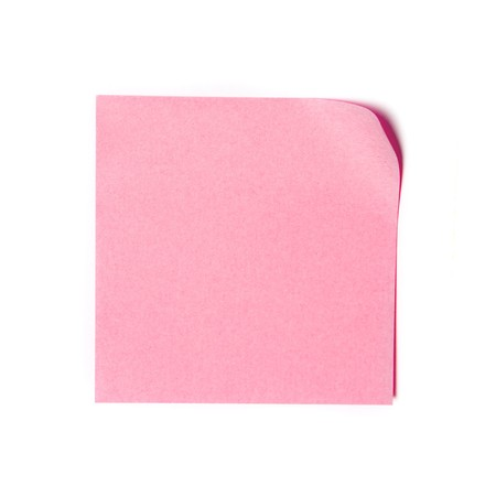 Note paper Stock Photo - 7671925