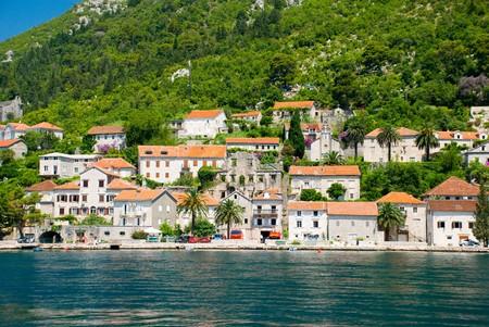 Small town. Montenegro photo