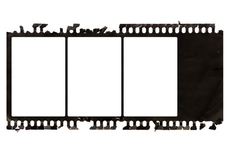 Grunge negative film Stock Photo - 8300081