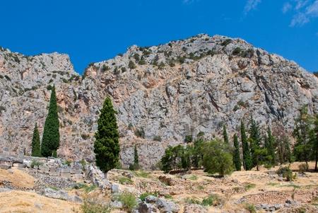 athenians: Delphi museum. Greece Stock Photo