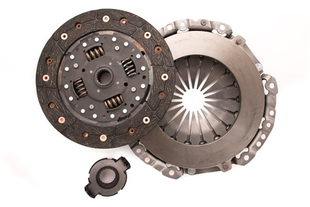 Car engine clutch. Isolated on white background. Stock Photo - 9008013