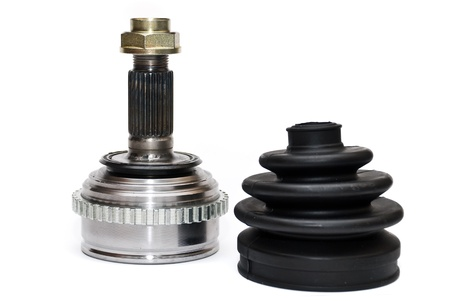 CV Joints. Constant Velocity Joints. Part wheel of the car. photo