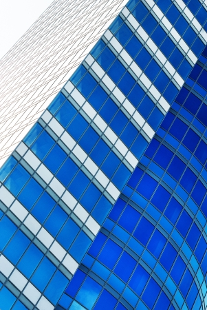 Abstract modern building background for design  photo