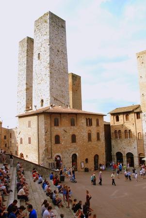Towers of San Gimignano Editorial