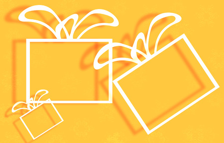 splurge: gift box illustration
