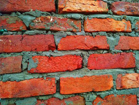 Natural Bricks Images, Stock Photos. This photo is taken in india. Stockfoto