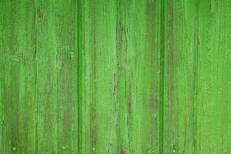 Old green boards, textures and background.
