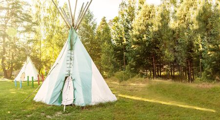 Wigwam - North American Forest Indians Home