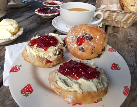 english west country: English Cream Tea