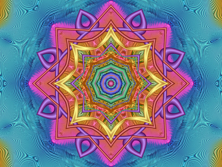 Colourful Kaleidoscope