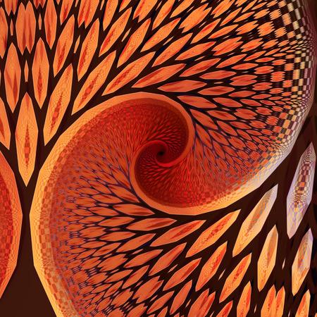 Fractal image resembling trees