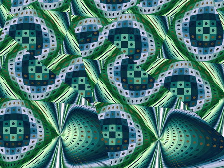 abstract fractal pattern Stock Photo