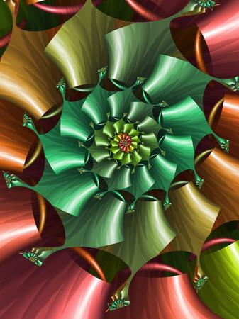 shiny: shiny spiral fractal