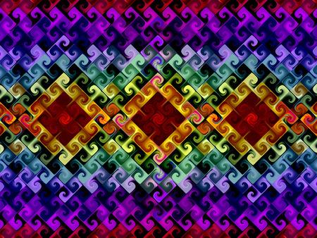 colorful rainbow background border