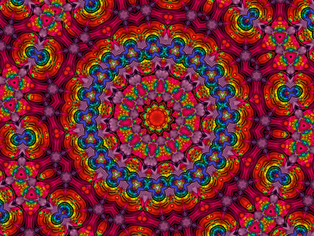 mandala: Colourful Mandala Stock Photo