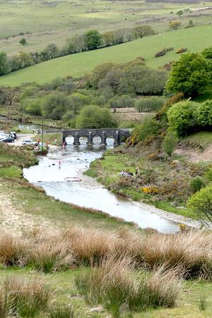 exmoor: Landacre Bridge, Exmoor
