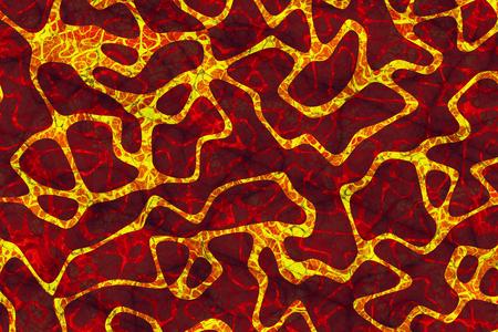lava field: Lava Field Stock Photo