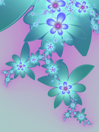 background pattern: background floral pattern