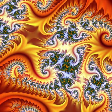 elaborate fractal pattern