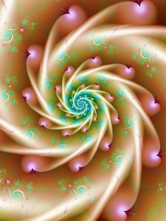 Soft Pastel Spiral