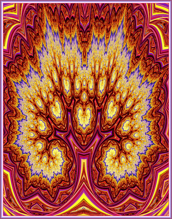 Abstract Fractal Tree