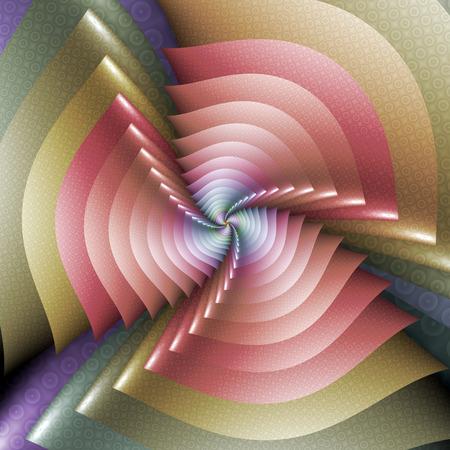 twisting: Twisting Fractal Image