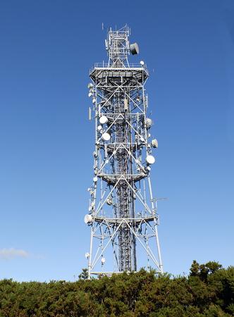 satelite: Radio Mast