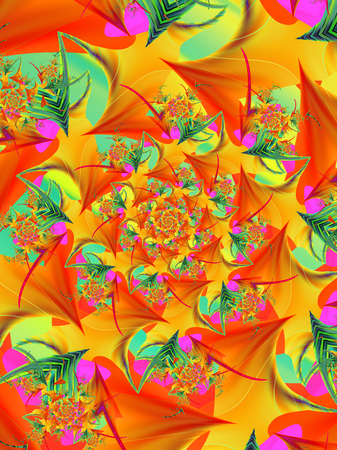 Brightly colored abstract pattern Stok Fotoğraf