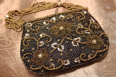 Small Beaded Evening Bag