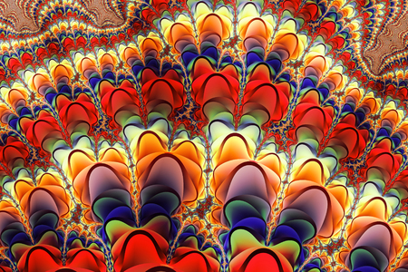 Colorful Fractal Pattern Фото со стока