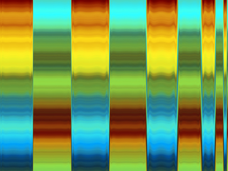 Multicoloured Striped Abstract Pattern
