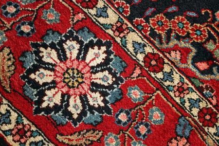 Close up of part of a Persian Carpet