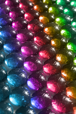 Colorful Clear Glass Stones