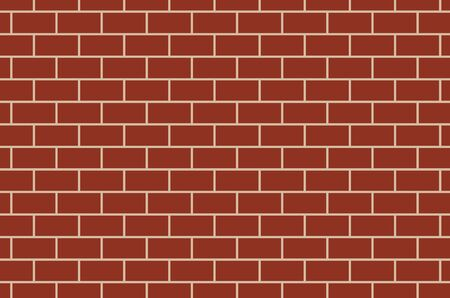 Red Brick Wall Background Texture Stockfoto