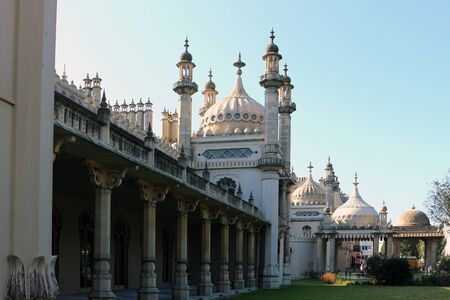 Brighton, East Sussex, England. 10th September 2019. The Royal Pavilion at Brighton.