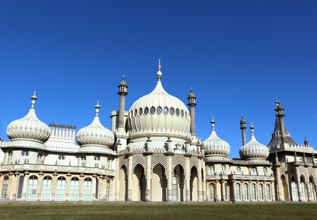 Brighton, East Sussex, England. 10th September 2019. The Royal Pavilion at Brighton was built for George, Prince of Wales as a seaside retreat. Фото со стока - 135344383