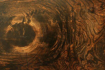 Vintage black walnut wood surface