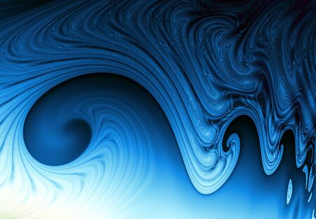abstract blue repeating wave background Standard-Bild