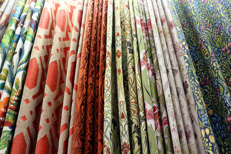 colourful fabrics for making curtains