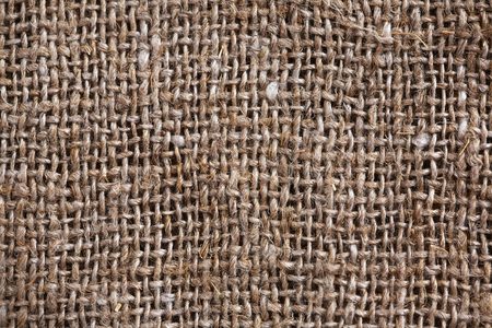 durable: rough durable fabric made of thick yarn