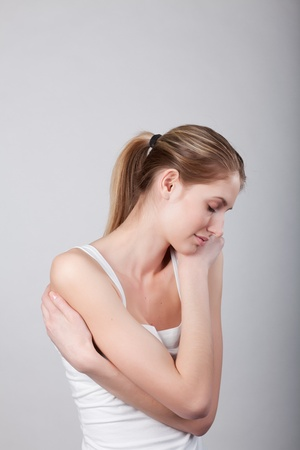 girl in a relaxed posture Stock Photo - 8724146