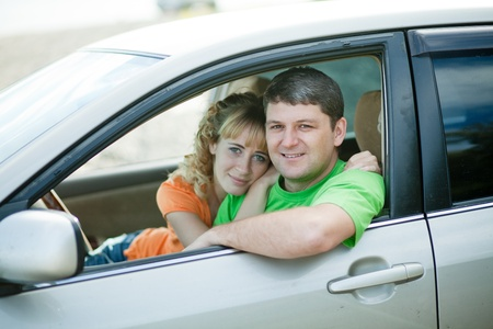 people at the car on her voyages around the world Stock Photo - 10439003