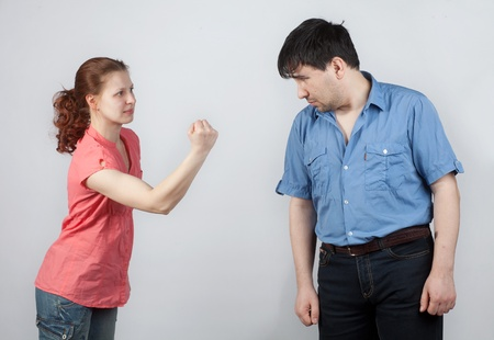 family conflict with the use of physical violence photo