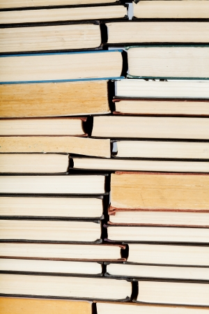 Vintage background book spines Stock Photo - 17440654