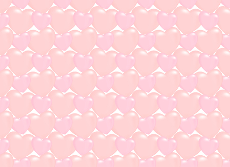 Seamless heart pattern background.